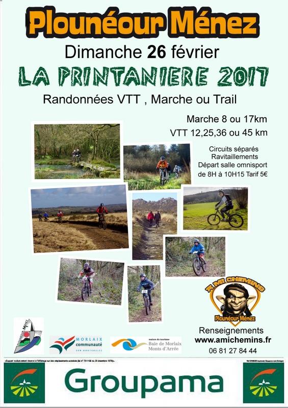 La Printanière @ Plounéour-Menez / Salle omnisports   Plounéour-Ménez   Bretagne   France