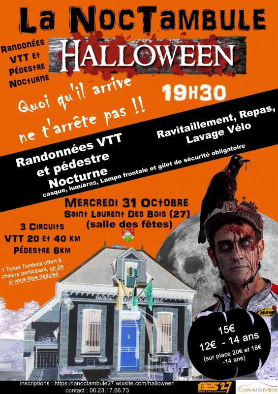 [Mer 31 Octobre 2018] La Noctambule Halloween (Nocturne VTT+Pedestre) Tract_56425