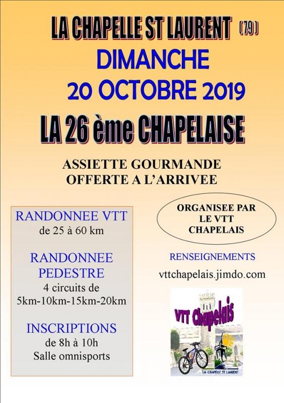 LA CHAPELLE ST LAURENT (79) - dimanche 20 octobre 2019 Tract_57043