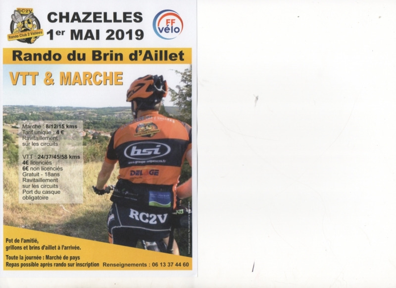 CHAZELLES (16) - Mercredi1er mai 2019 Tract_58220
