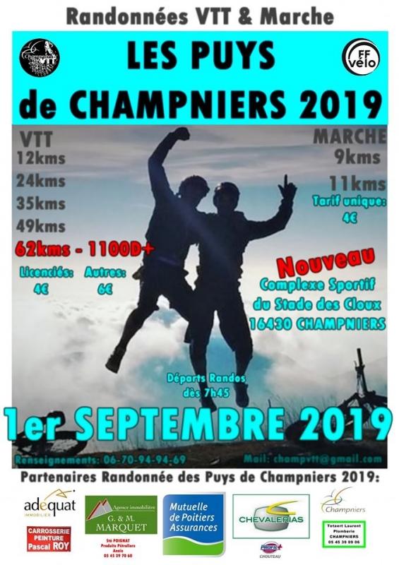CHAMPNIERS (16) - dimanche 1er septembre 2019 Tract_59240