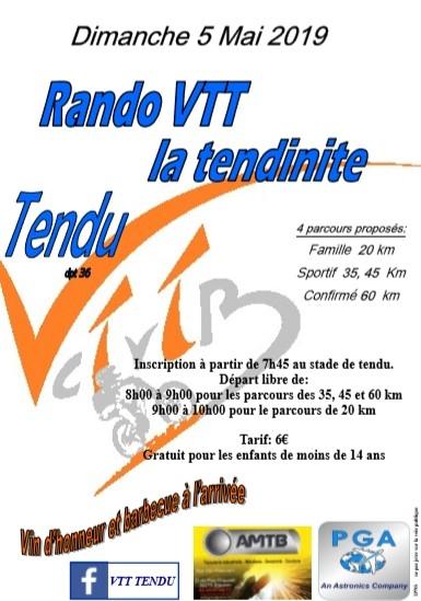 TENDU (36) - La tendinite - dimanche 5 mai 2019 Tract_60362