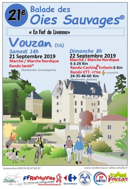 VOUZAN (16) - Balade des oies sauvages - dimanche 22 septembre 2019 Tract_60770