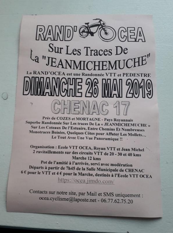 CHENAC (17) - dimanche 26 mai 2019 Tract_60784