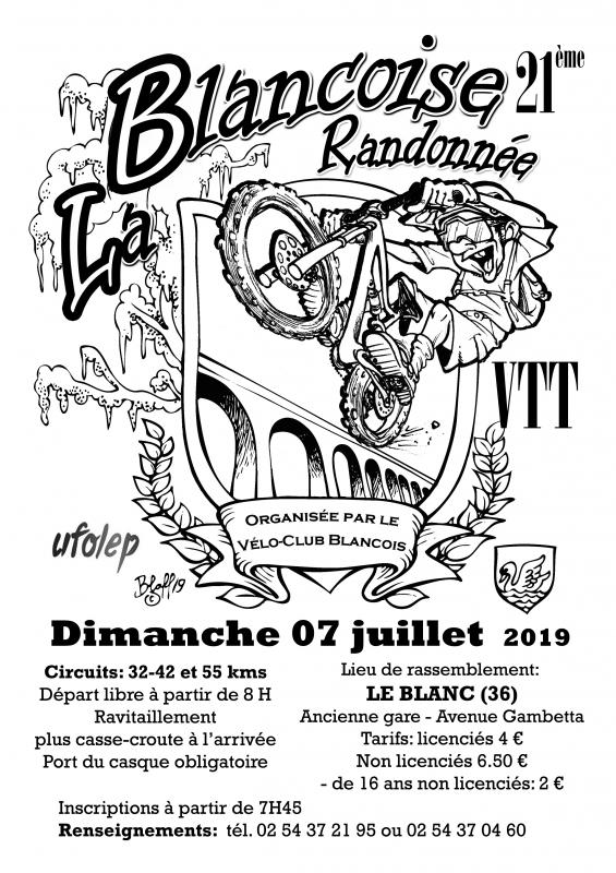 LE BLANC (36) - La Blancoise - dimanche 7 juillet 2019 Tract_60805