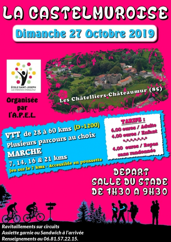 LES CHATELLIERS CHATEAUMUR (85) dimanche 27 octobre 2019  Tract_61322