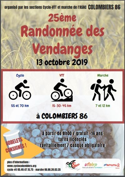COLOMBIERS (86) - dimanche 13 octobre 2019 Tract_61622