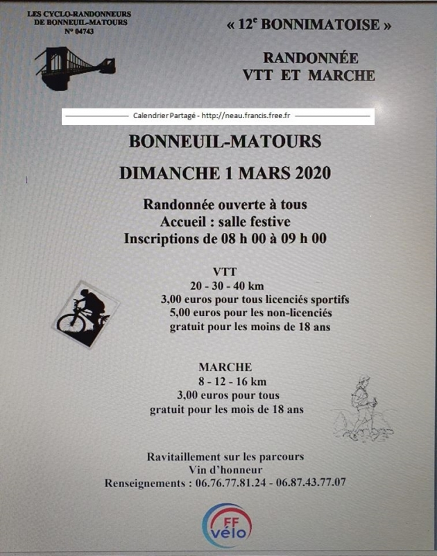 BONNEUIL-MATOURS (86) - Dimanche 1er mars 2020 Tract_63084