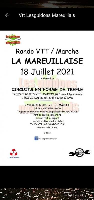 MAREUIL (16) - Dimanche 18 juillet 2021 Tract_66348